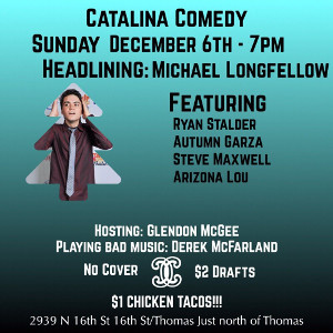 Catalina Comedy Poster