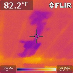 FLIR i7 thermographic camera